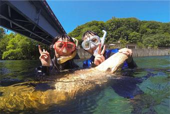 Lake Shikotsu River Snorkeling